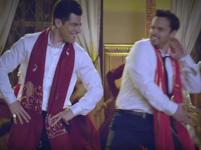 Max Greenfield and Jake Johnson shake a Bollywood leg in the new promo for New Girl.
