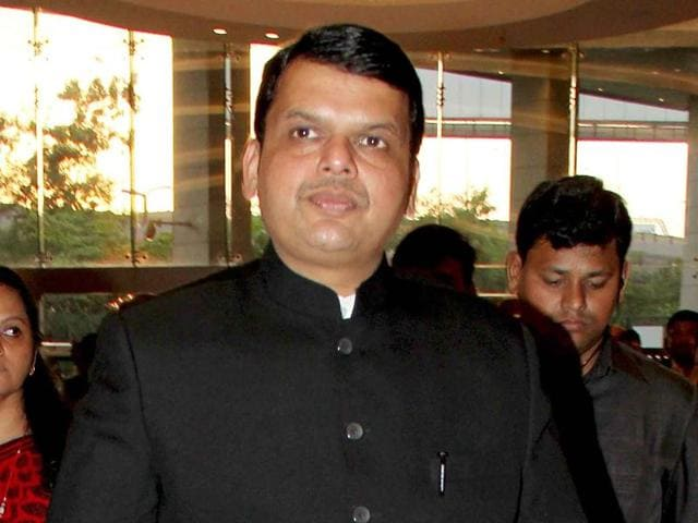The winter session of the Maharashtra assembly will begin in CM Devendra Fadnavis (centre) hometown Nagpur on December 7.