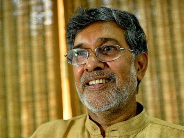 Noble Laureate Kailash Satyarthi.