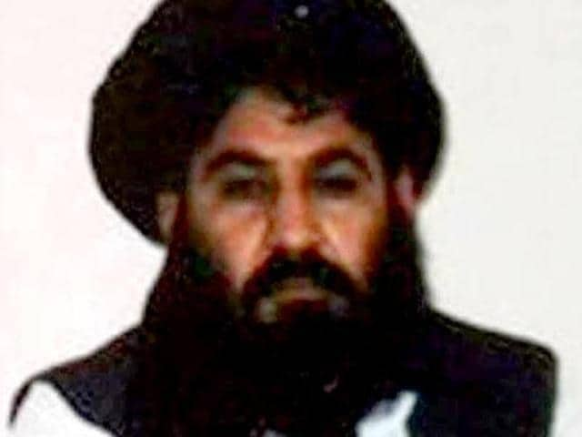 Mullah Akhtar Mohammad Mansour, Taliban's new leader is seen in this undated handout photograph.