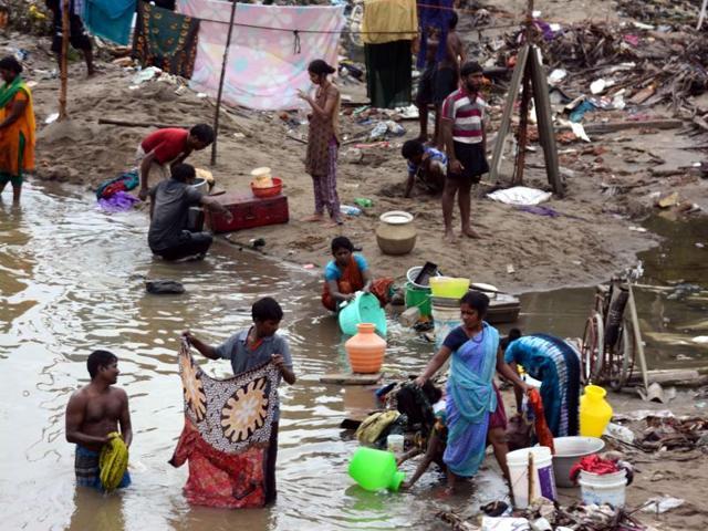 Chennai floods,Chennai flood relief,Chennai Corporation floods