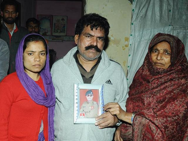 BSF jawan Raman Kumar, who was the eldest son of his family, is survived by his parents, Kundan Lal and Surjit, besides a brother and two sisters. Lal runs a tailoring shop.