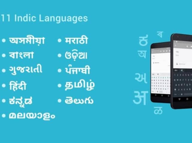 The Indic language keyboard from Google supports 11  regional languages and comes pre-installed in Android devices with Lollipop or higher.
