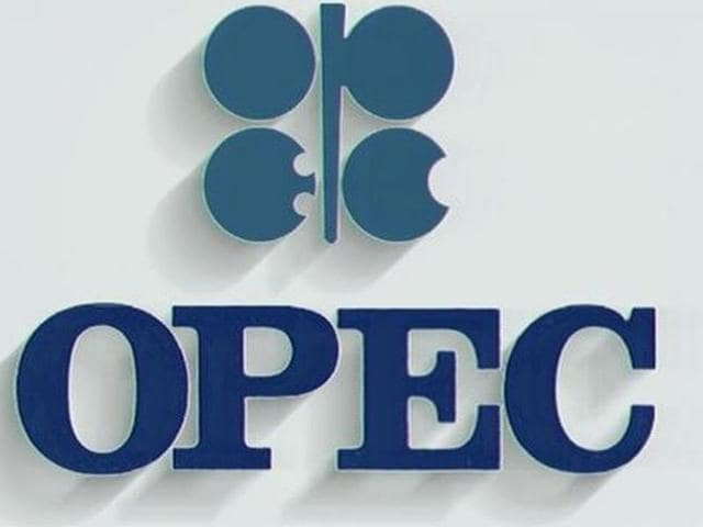 The logo of the Organisation of Petrol Exporting Countries (OPEC).