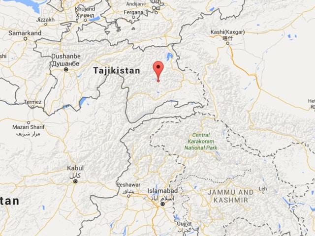 Mild tremors were felt in Srinagar.
