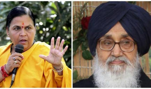 Badal called on Uma and also impressed on her to release Rs 1,375 crore for rehabilitation, renovation and modernisation of various distributaries.