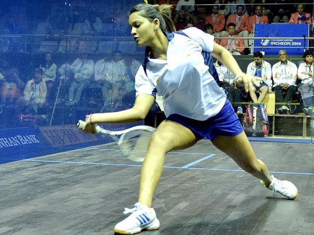 A file photo of Indian squash player Dipika Pallikal.