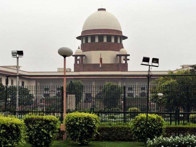 The Supreme Court on Monday refused to direct the government to take a decision on having a Uniform Civil Code(UCC) for all citizens across the country.(Mohd Zakir /HT File Photo)