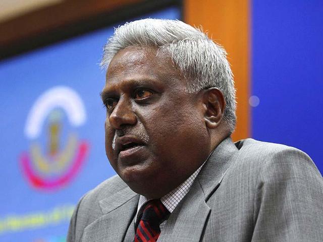 File photo of former CBI director Ranjit Sinha, in New Delhi.