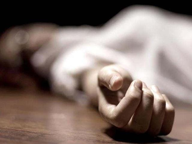 The woman could not bear the loss of her husband who died in a road accident at Hapur on Sunday morning.