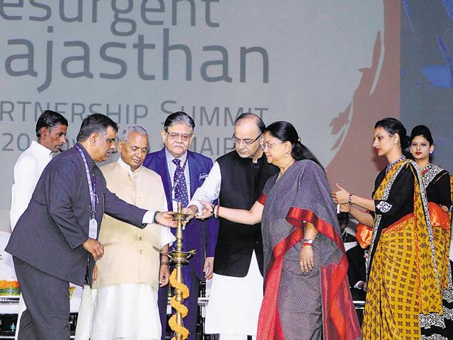 The Resurgent Rajasthan Partnership Summit was held at Jaipur on November 19 and 20.