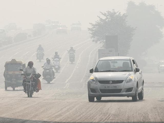 The Delhi government announced a plan to allow private vehicles on the roads only on alternate days starting January 1 to clean the world's most polluted capital.*