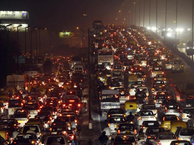 Delhi has a car population of around 2.8 million and according to a four-year-old census, a quarter of its workforce goes to work using private vehicles.