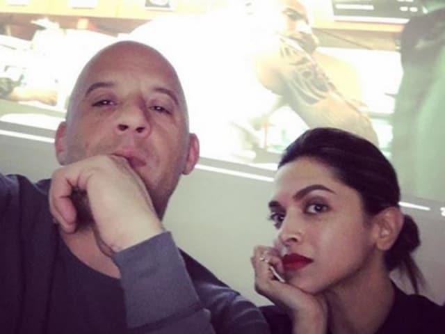 Deepika Padukone,Vin Diesel,Irrfan Khan