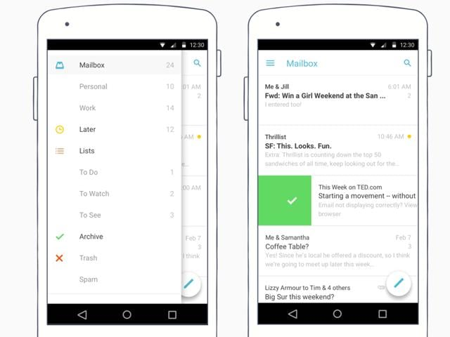 Dropbox is moving its focus from Mailbox and Carousel to focus on its upcoming service named Paper.