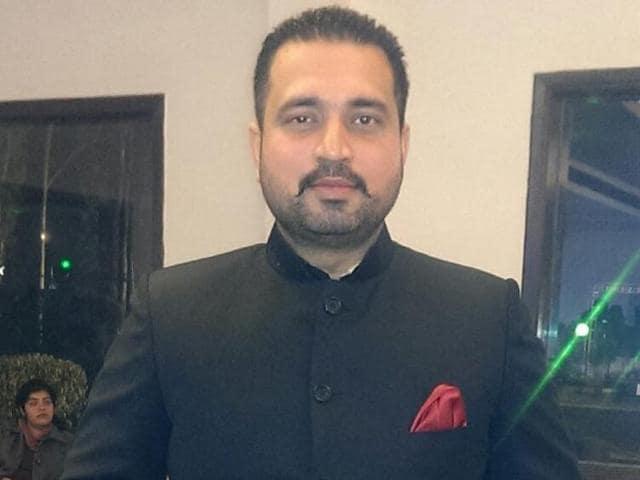 36-year-old SAS Nagar businessman Karan Arora.