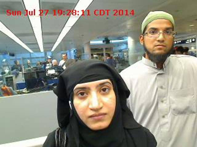California shooting,Syed Rizwan Farook,Tashfeen Malik
