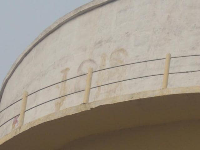 In August, the message 'ISIS coming soon' was found scribbled by a coal piece on a water tank in the busy Phulapti market in Agra. Now, a message 'ISIS' has been spotted atop another water tank in Gonda.
