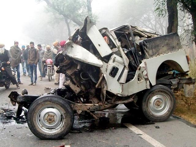 Bathinda,Fog-related accidents,Road accidents