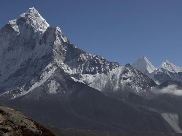 According to a report, glaciers on Mount Everest have shrunk by 28% over the past 40 years.