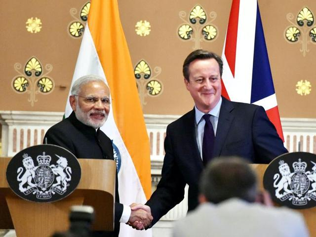 British prime minister David Cameron raised the issue of an alleged growing intolerance with Indian society as well as human rights during prime minister Modi's recent visit to the UK.