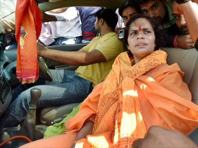 """VHP leader Sadhvi Prachi on Tuesday attacked Bollywood actors Shah Rukh Khan and Aamir Khan and Samajwadi Party leader Azam Khan for """"tarnishing"""" the image of the country through their comments on intolerance."""