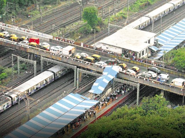 Parel and Elphinstone Road stations cater to approximately 1.5lakh-2lakh daily passengers each daily.