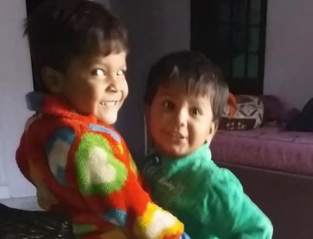 The deceased identified as Aditya (4) and his younger brother Anshu (3) were burnt to death after a fire broke out in a room at Aman Nagar.