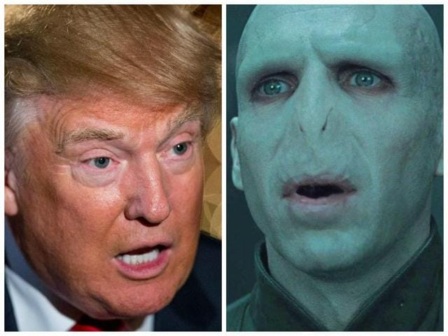 Twitter comes out in defence of Voldemort after JK Rowling compares him to Donald Trump.
