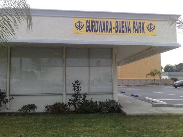 A Gurdwara has been vandalized in Los Angeles suburbs with hateful graffiti addressed towards Islamic State.