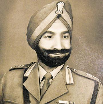 He was among the six officers who were decorated with the MVC and Bar. The Maha Vir Chakra is India's second highest military decoration and is awarded for acts of conspicuous gallantry in the presence of the enemy.