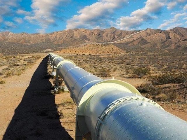 Tapi gas pipeline