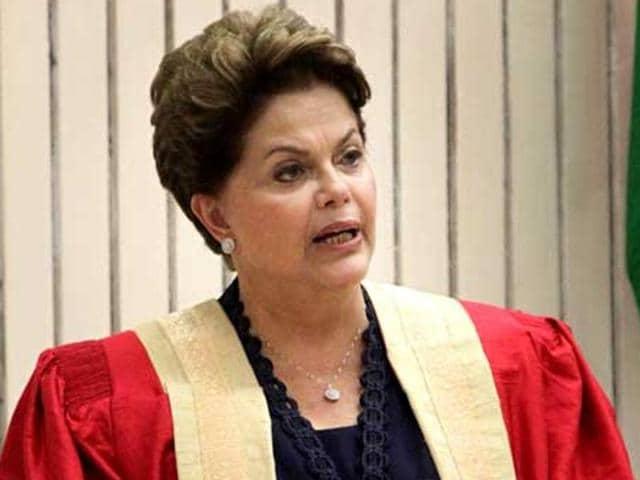 Brazil President Dilma Rousseff