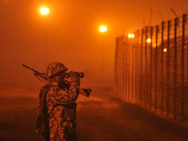 Border Security Force,Rannian border outpost,Indo-Pak border
