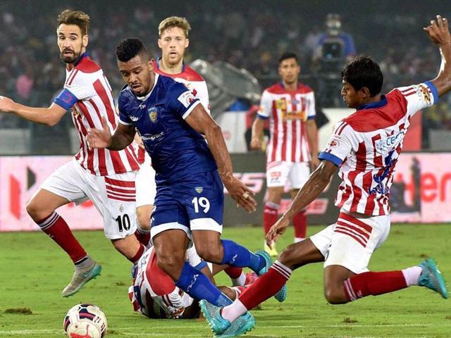 Chennaiyin FC,Atletico de Kolkata,ISL 2015
