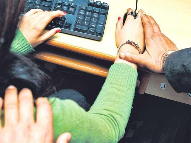 Harassment at workplace is a constant for many women. Experts warn against ignoring such behaviour and advise approaching the HR to file a complaint. HT photo/Arijit Sen