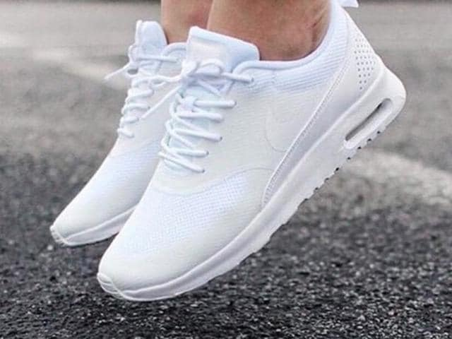 From being cloth shoes you had to wear once a week to becoming the darlings of hip-hop artists, the white sneakers have become quite the trend