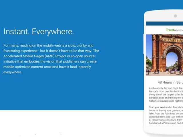 Accelerated Mobile Page Project,Pinterest,Twitter
