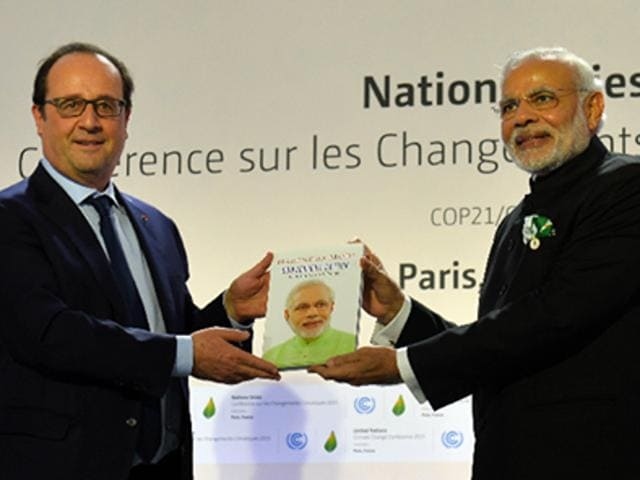 Prime Minister Narendra Modi's book was released in Paris on Thursday.