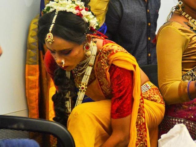The Dancing Queens perform at the Godrej India Culture Lab
