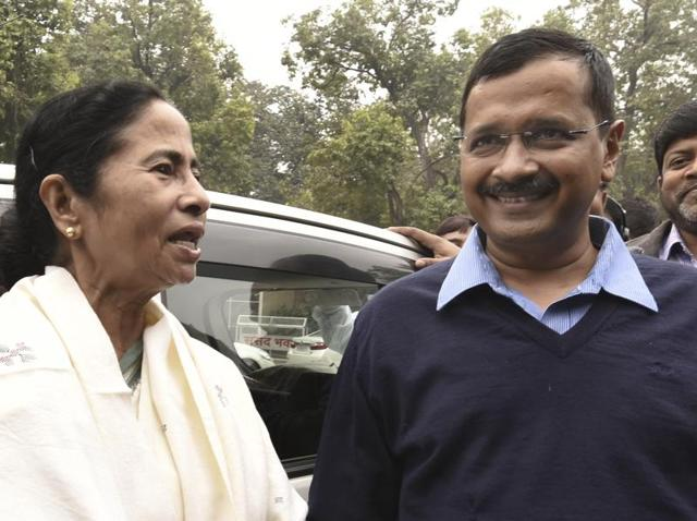 Delhi CM Arvind Kerjiwal's meeting with his West Bengal counterpart Mamata Banerjee showed the working relationship that was growing between the two parties.
