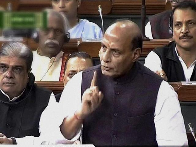 Union home minster Rajnath Singh raised his concerns during a meeting with Delhi CM Arvind Kejriwal.