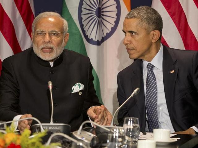 India's crucial role at the climate change talks in Paris has once again been underlined by a high-level outreach by the United States.