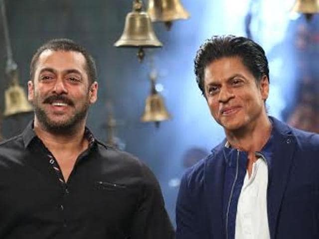 Shah Rukh Khan will visit the sets of Salman Khan's  hit show Bigg Boss 9 to promote his film Dilwale that is slated to hit theatres on December 18..