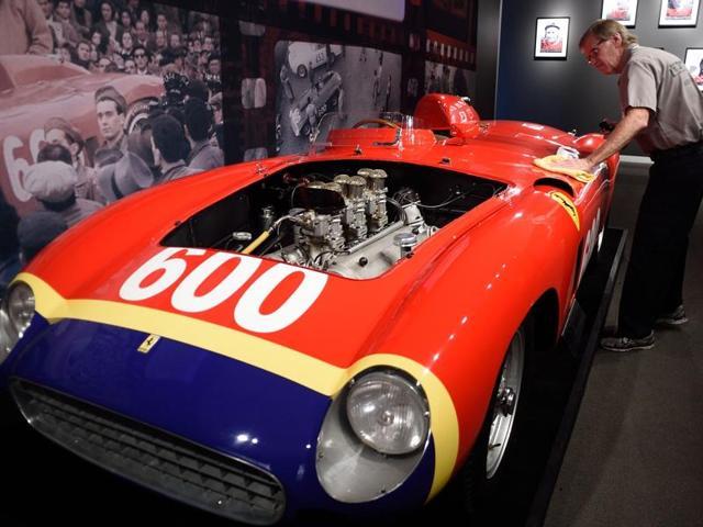 1956 Ferrari,NYC car auction,New York