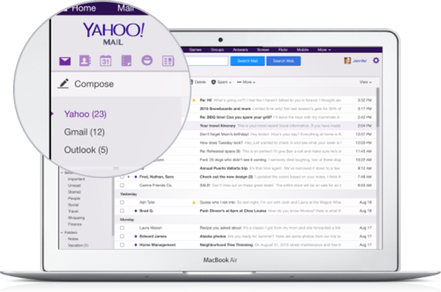 You can now search across your entire history of emails, from day one, for all connected mailboxes with Yahoo Mail.