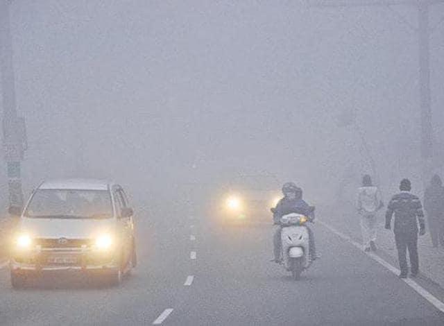 Accident,Fog,Pedestrian