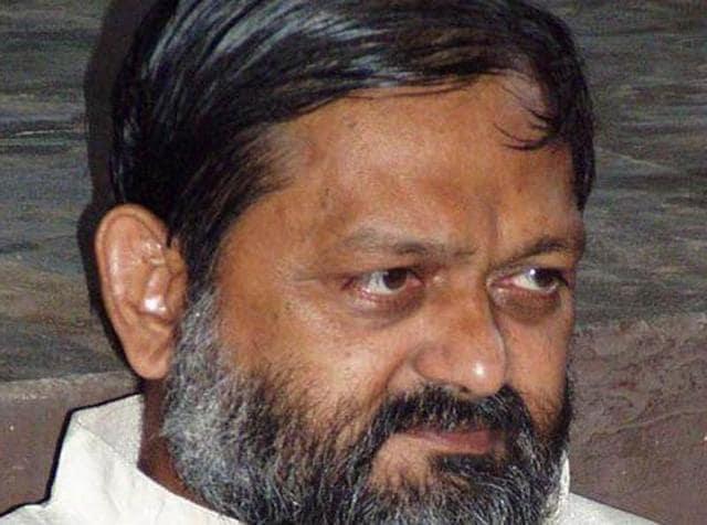 Anil Vij,SP Kalia,Haryana health minister