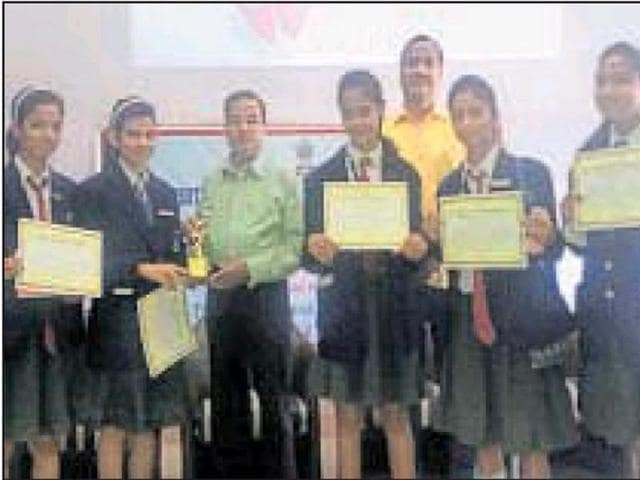 A group of five students from a private school of Kota have topped the state-level National Children Science Congress (SNCSC) in Rajasthan.
