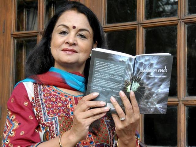 Poet Arvinder Kaur.